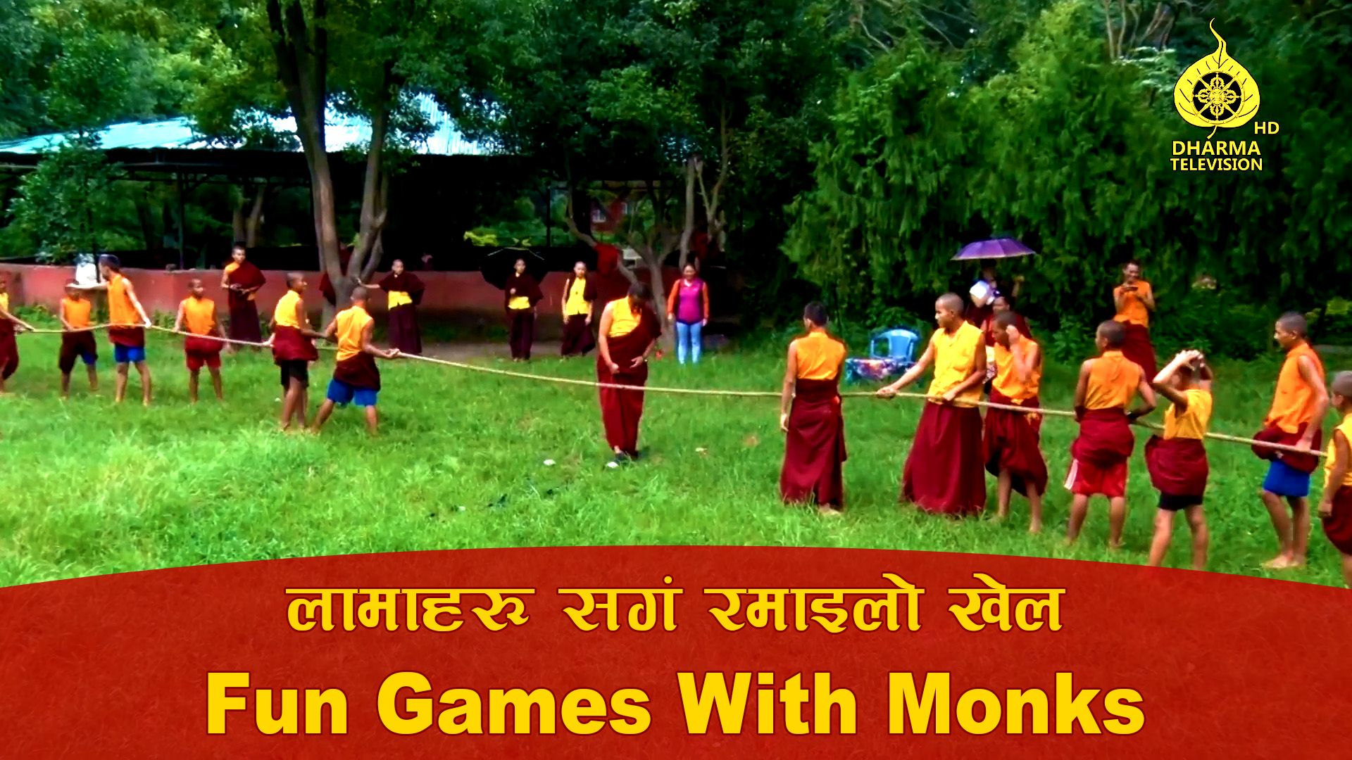 Fun Games With Monks